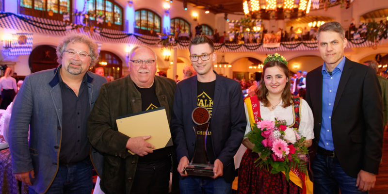 Auszeichnung Goldene BierIdee 2019