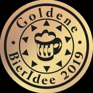 """Logo """"Goldene BierIdee 2019"""""""